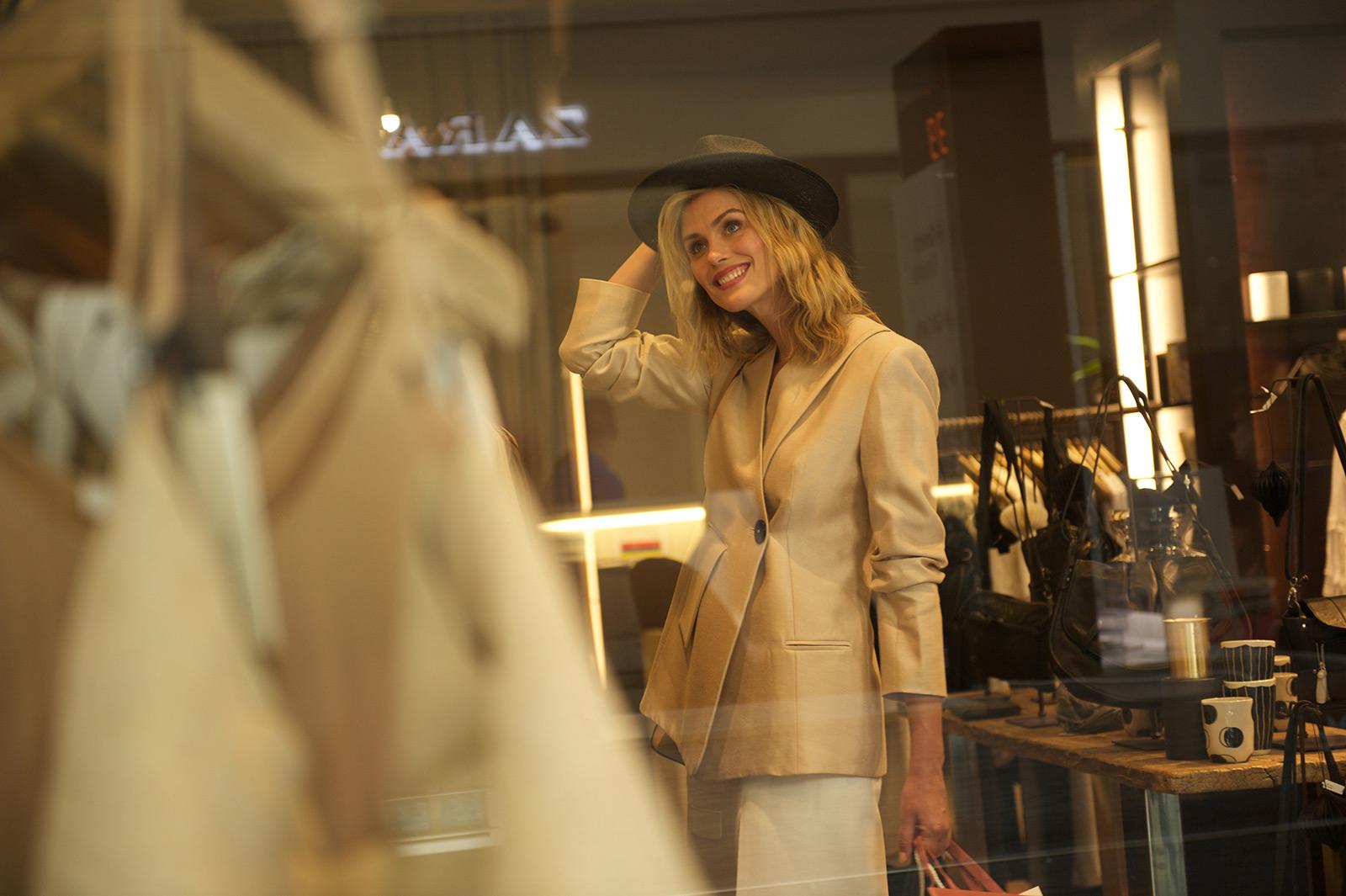 Lady shopping