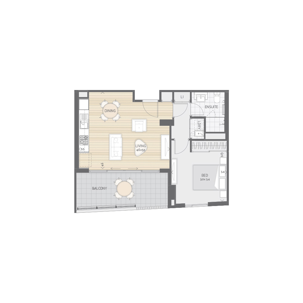 Individual Apartment Plan Type P2