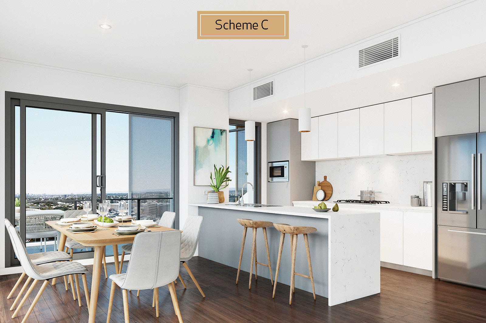 Apartment 113 - Kitchen Scheme C